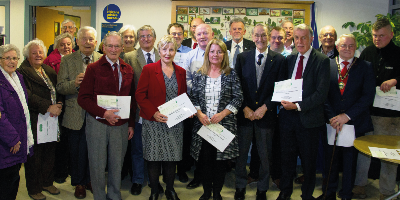Hednesford Town Council commits to Citizens Advice as it hands £5,000 of grants to local organisations